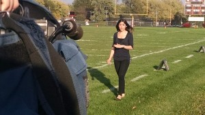 Reporting on field